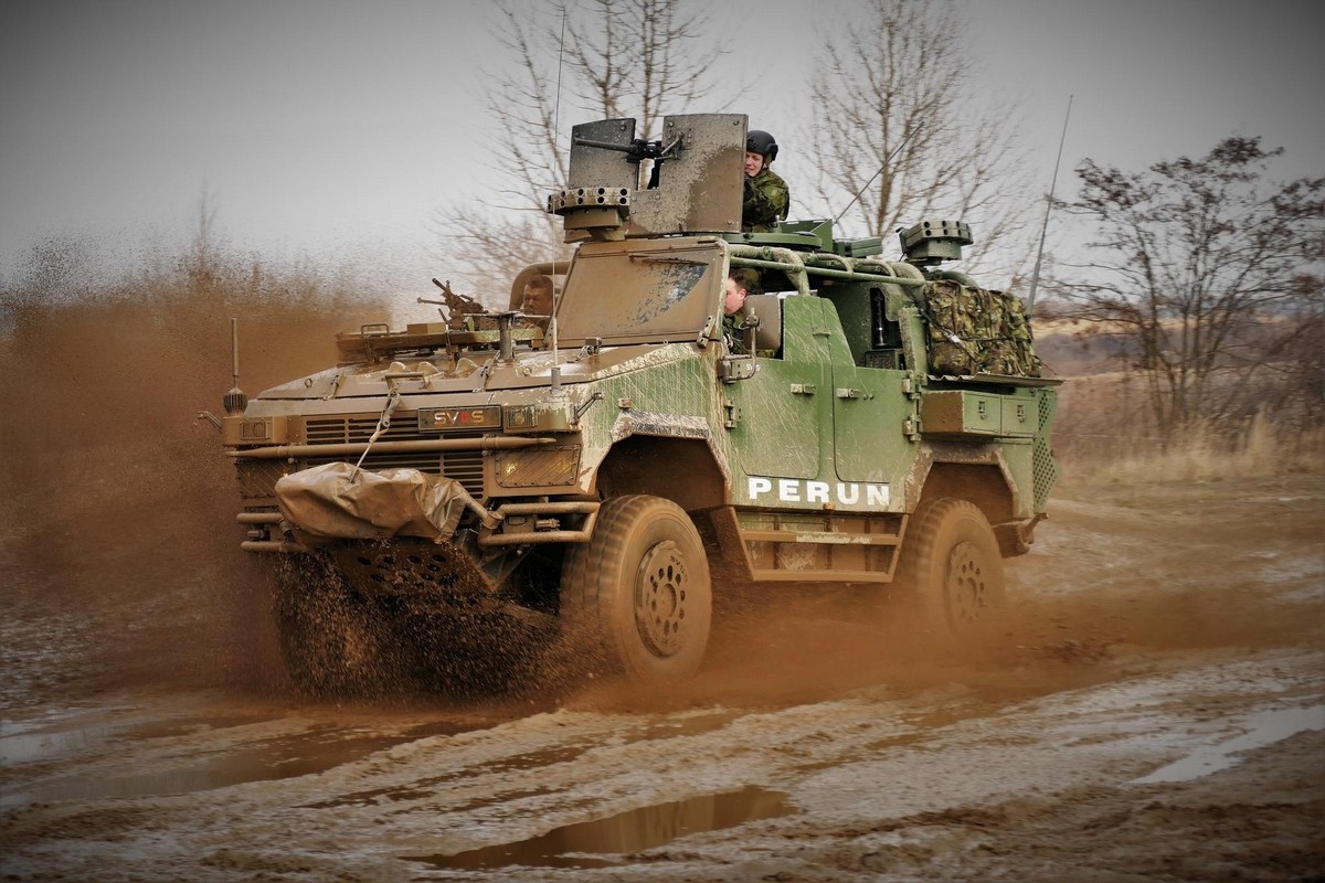 Czech Army SVOS Perun Light Strike Vehicle