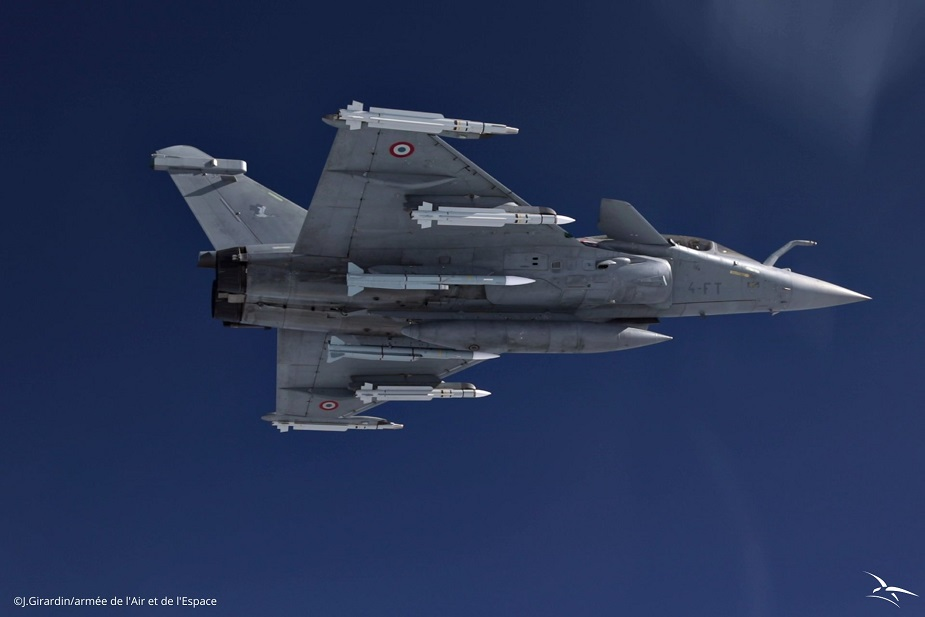 Rafale F3R with MICA and Meteor AAM